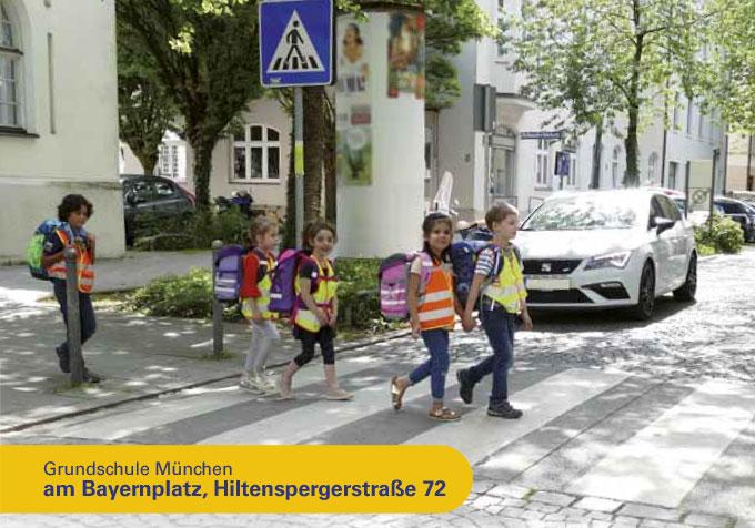 Grundschule München, Bayernplatz Hiltenspergerstr. 72