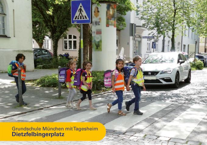 Grundschule München, Dietzfelbingerplatz