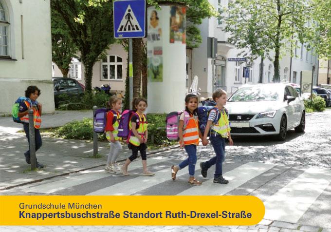 Grundschule München, Knappertsbuschstrasse Standort Ruth Drexel Strasse