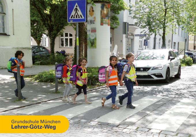 Grundschule München, Lehrer Götz Weg